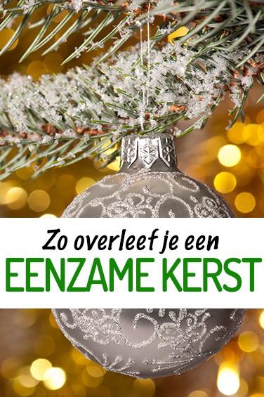Nooitmeerpiekeren.nl - Blog: Zo overleef je een eenzame kerst